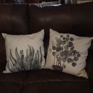 Botanical Accent Pillows
